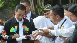 Membedah Jaket Asian Games yang Dipakai Jokowi