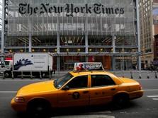 New York Times Gaet 139.000 Pelanggan Baru di Kuartal I-2018