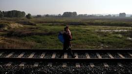 FOTO: Jalan Panjang Pengungsi Suriah Menuju Yunani