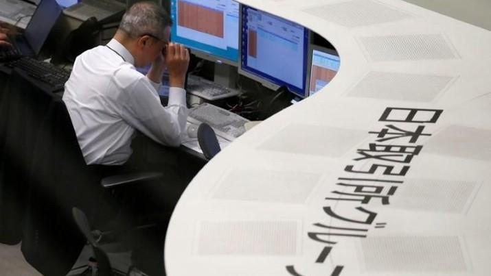 Pasca-Gempa, Bursa Jepang Dibuka Melemah