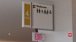 VIDEO: Penemuan Mayat Pria di Dinding Toilet Wanita
