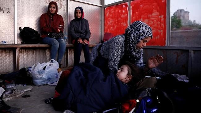 Polisi dan pemerintah setempat khawatir akan trenyang dinilai mencerminkan tren kekerasan di Irak dan Suriah ini.(REUTERS/Alkis Konstantinidis)