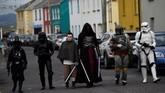 Penggemar juga bisa mengunjungi workshop dan film screening selama festival itu. (REUTERS/Clodagh Kilcoyne)