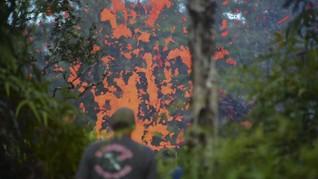 NASA Rilis Gambar Gempa dan Gunung Api Hawaii Lewat Radar