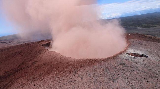 Gunung Kilauea Semburkan Lava, Hawaii Status 'Bahaya'