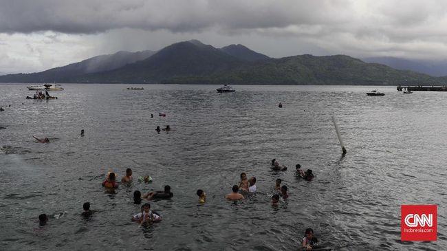 Tim SAR Kawal Peserta Ritual Padusan di Gunung Kidul