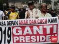 Koalisi Jokowi Sebut Aksi #2019GantiPresiden Sebar Kebencian