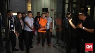 KPK Tahan Amin Santono dan Tiga Tersangka Suap APBN-P 2018