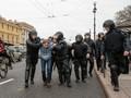 Sekitar 1600 Demonstran Anti-Putin Ditahan di Rusia