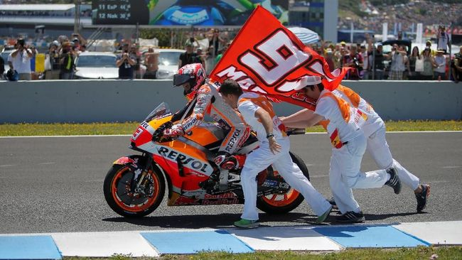 6 Fakta Menarik Usai Marquez Menang di MotoGP Spanyol