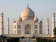 Nomor 3 Corona Terbanyak Dunia, India Buka Lagi Taj Mahal