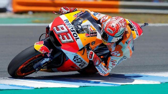 Perang Utama Marquez Kini Bukan dengan Rossi