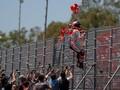 Marquez Joget 'Backpack Kid' Usai Menang di MotoGP Spanyol