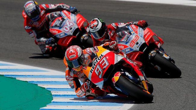 3 Kerugian Marquez Bila Lorenzo Gabung Honda di MotoGP