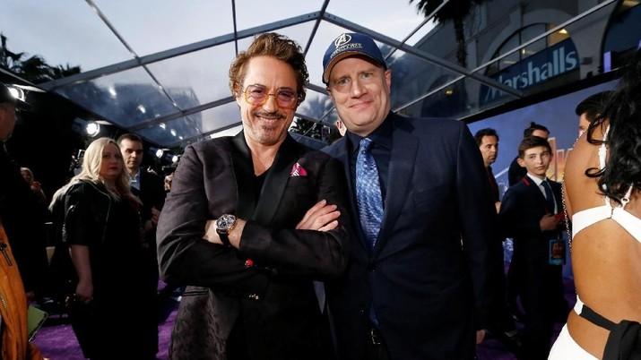 Kevin Feige, pria di balik kesuksesan film superhero Marvel, memulai karier tidak langsung menjadi bos seperti sekarang tapi merangkak dari nol.