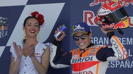 FOTO: Marc Marquez Juara di MotoGP Spanyol