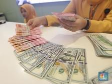 Pukul 12:00 WIB: Rupiah Melemah 0,16% ke Rp 14.640/US$