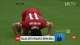 VIDEO: Fan Liverpool Sebut Mohamed Salah Karunia dari Allah