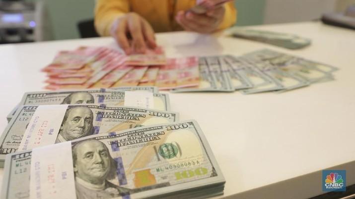 Pembukaan Pasar: Rupiah Menguat ke Rp 14.270/US$