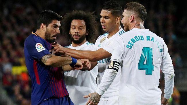 7 Kontroversi Laga El Clasico di Stadion Camp Nou