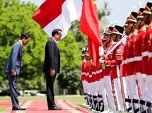 Momen Kebersamaan Jokowi dan PM China di Istana Bogor