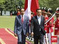 Jokowi Sambut Perdana Menteri China di Istana Bogor