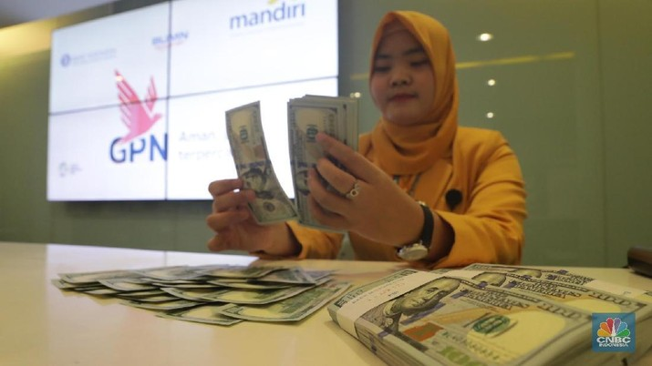 Pukul 11.00 WIB: Rupiah Masih Terkapar di 14.411/US$