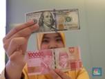 Pukul 13.00 WIB: Dolar AS Betah di Rp 14.075
