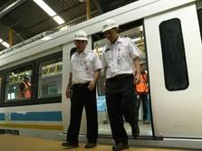 Kereta Layang DKI Membentang dari Manggarai Sampai Kemayoran