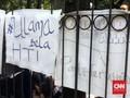 Sidang HTI, Spanduk Khilafah Bertebaran di PTUN