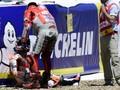 Tabrakan MotoGP Spanyol, Lorenzo Tolak Salahkan Pedrosa