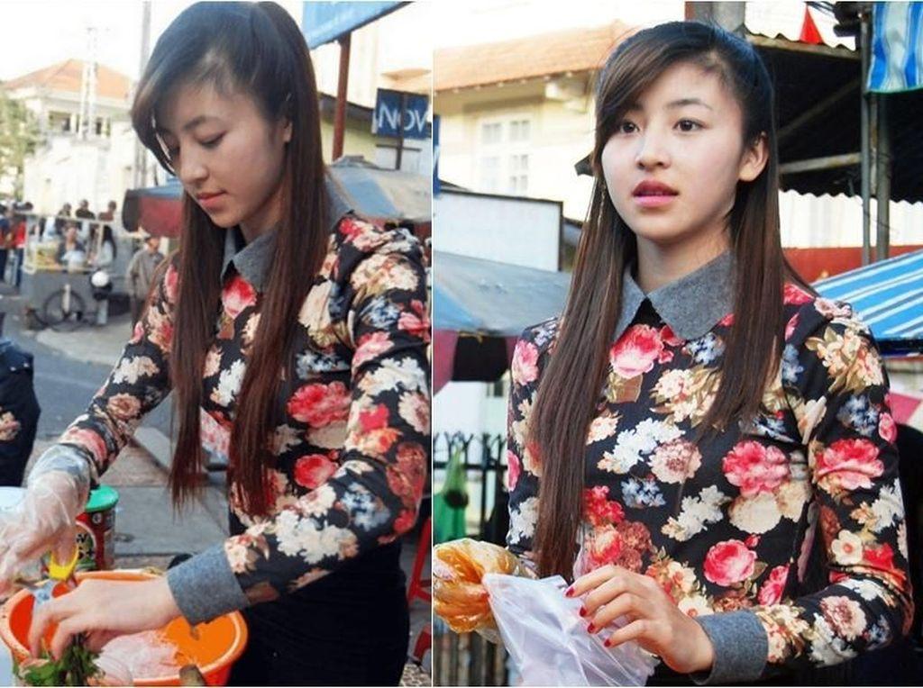 10 Penjual Cantik dan Manis, Bikin Kamu Rela Borong Semua Dagangannya
