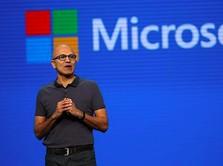 Bisnis Cloud Bawa Harga Saham Microsoft ke Rekor Tertinggi