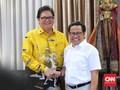 Cak Imin Sambangi Airlangga, Bahas Kelanjutan Dukung Jokowi