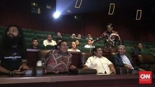 Prabowo dan Syahrini Nonton Bareng Film 212 The Power Of Love