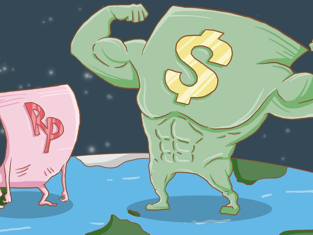 Dolar AS Akhirnya Tembus Rp 14.000
