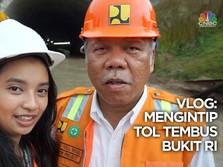 VIDEO: Mengintip Proyek Jalan Tol Tembus Bukit di RI