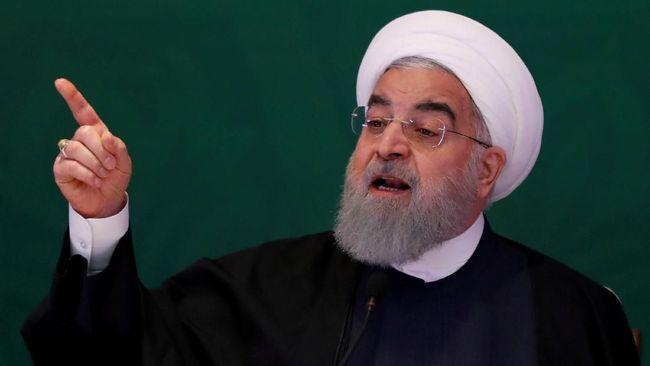 Rouhani Peringatkan AS Bahaya Perang dengan Iran