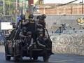 FOTO: Penjagaan Mako Brimob Diperketat Usai Kerusuhan