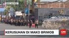 Perempatan Gunadarma Menuju Mako Brimob Ditutup