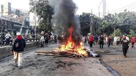 FOTO: Ricuh Pengosongan Rumah Dinas TNI