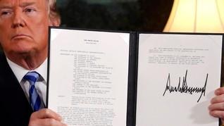 Menilik Perbedaan Sikap AS Tangani Nuklir Korut dan Iran