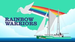 Menakar Kapal Ramah Lingkungan 'Rainbow Warriors'
