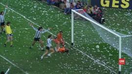 VIDEO: Belanda Sial di Final, Argentina Juara Dunia 1978