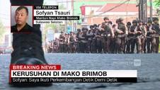 Mantan Napi Bicara Detik-detik Kerusuhan di Rutan Mako Brimob