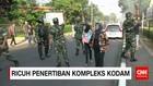 Ricuh Pengosongan Perumahan Kodam Jaya