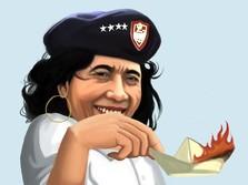 Zaman Jokowi, 488 Kapal Ilegal Ditenggelamkan