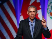 Hindari Corona, Barrack Obama Minta Jangan Pakai Masker