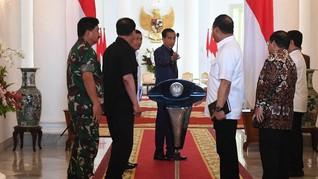 Jokowi Instruksikan Kapolri Tangkap Penyebar Hoaks Gempa Palu