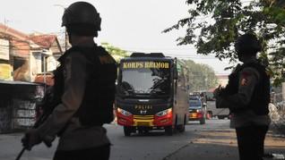 Jelang 22 Mei, Polda Lampung Kirim Brimob Bantu Amankan KPU